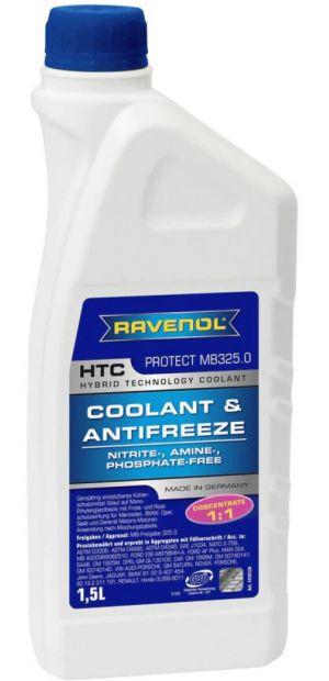 Ravenol HTC Coolant Concentrate (-72C, синий)