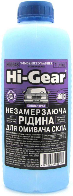 Омыватель зимний Hi-Gear Screen Washer (-80C)