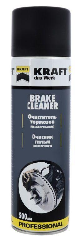 Очиститель тормозных механизмов Kraft Brake Cleaner