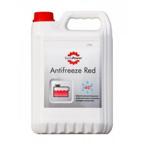 DynaPower Antifreeze Red