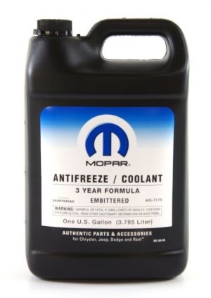 Mopar Antifreeze/Coolant 3 Year Formula - Embittered