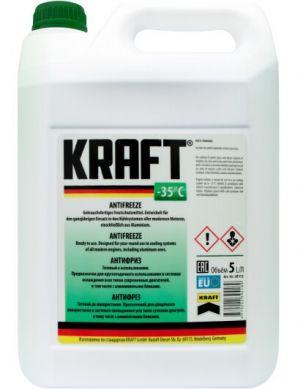 Kraft Antifreeze (-35C, зеленый)