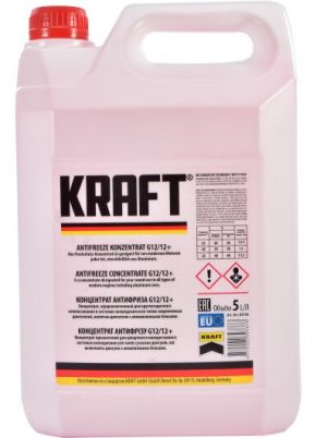 Kraft Antifreeze Concentrate G12/G12+ (-70C, красный)