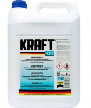 Kraft Antifreeze (-35C, синий)