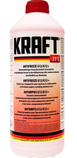 Kraft Antifreeze (-35C, красный)