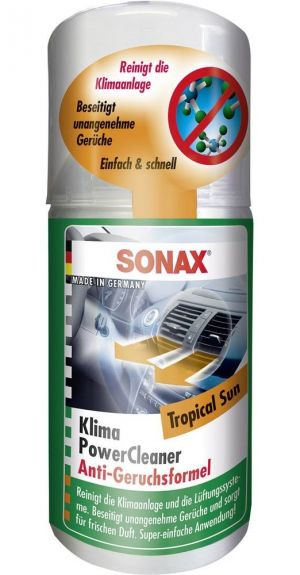 Очиститель кондиционера (тропический бриз) SONAX Clima Clean Tropical Sun