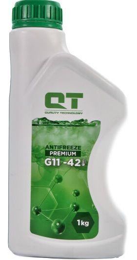 QT Antifreeze Premium G11 (-42C, зеленый)