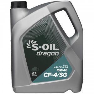 S-OIL Dragon CF-4/SG 15W-40