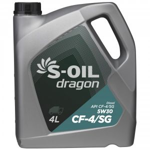 S-Oil Dragon 5W-30 CF-4/SG