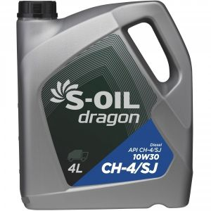 S-Oil DRAGON 10W-30 CH-4/SJ