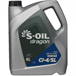 S-Oil DRAGON 10W-40 CI-4/SL