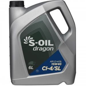 S-Oil DRAGON 15W-40 CJ-4/SL