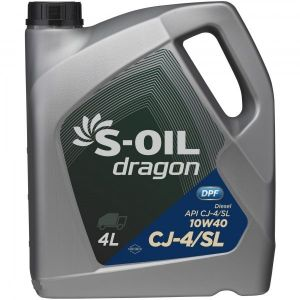 S-Oil DRAGON 10W-40 CJ-4/SL