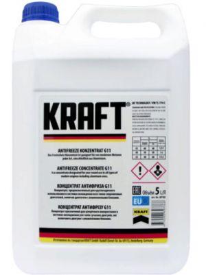 Kraft Antifreeze Concentrate G11 (-70C, синий)
