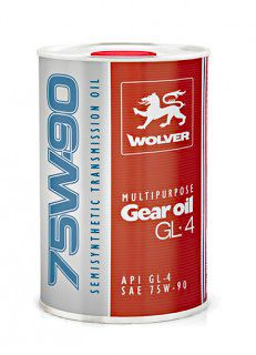 WOLVER Multipurpose Gear Oil GL-4 SAE 75W-90
