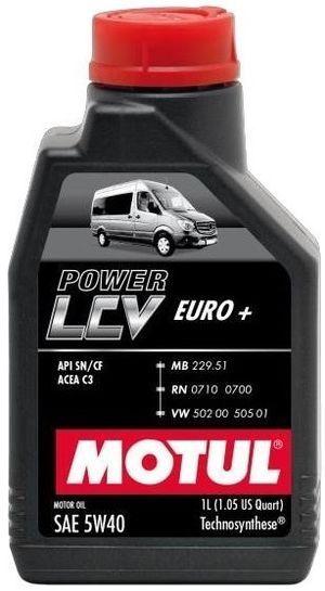 Motul Power LCV Euro + SAE 5W-40
