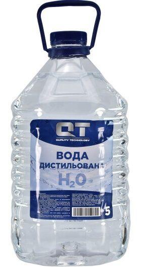 Дистиллированная вода QT