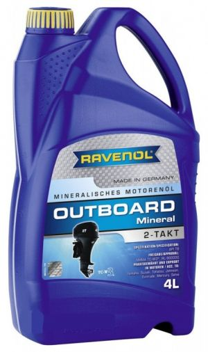 RAVENOL Outboardoel 2T Mineral