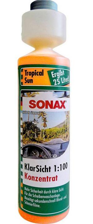 Концентрат омывателя (бриз) 1:100 SONAX Tropical Sun