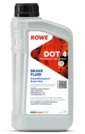 Rowe Hightec Brake Fluid DOT-4