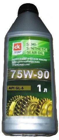 Дорожная карта 75W-90 GL-5