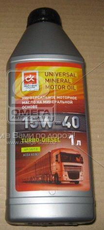 Дорожная карта 15W-40 Turbo Diesel SG/CD