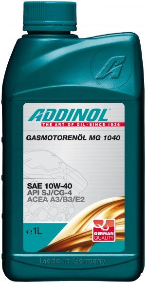 Addinol Gasmotorenol MG 1040 10W-40
