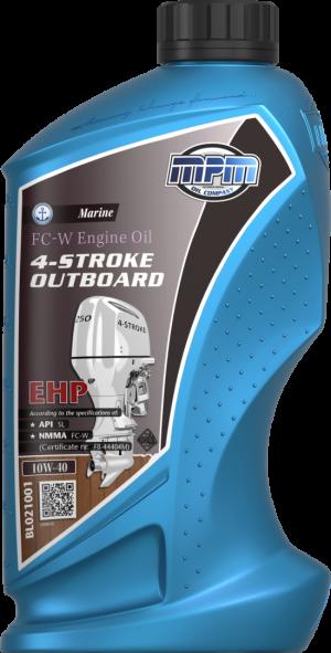 MPM FC-W Marine Engine Oil Outboard EHP 10W-40 4T