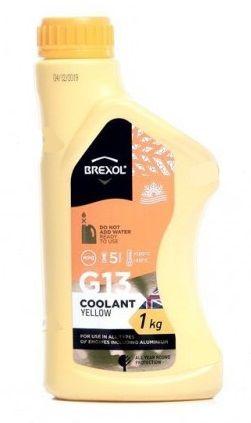 Brexol Antifreeze Yellow G13 (-40C, желтый)