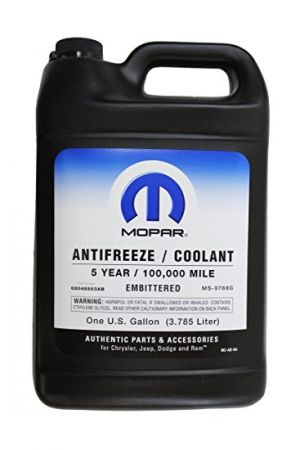 Mopar Concentrate Antifreeze/Coolant 5-Year/100,000 Mile - Embittered