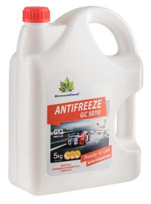 Greencool Antifreeze GC 5010 (-35C, красный)