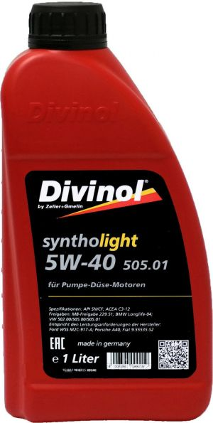 DIVINOL Syntholight 505.01 5W-40