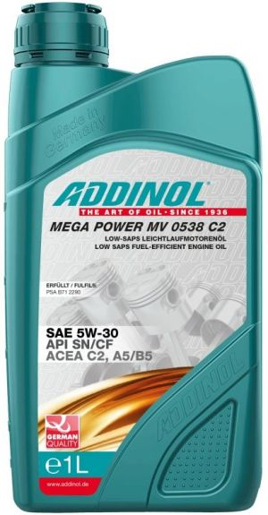 Addinol Mega Power MV 0538 C2 5W-30