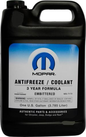 Mopar Antifreeze/Coolant 3 Year Formula (-70C, зеленый)