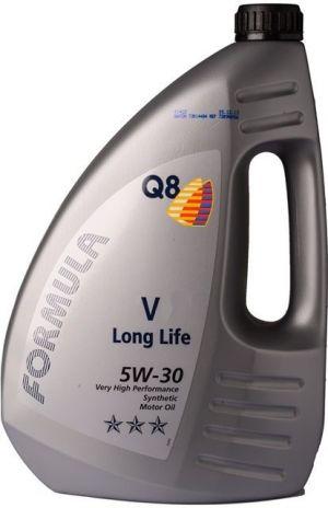 """Q8 Formula """"V"""" 5W-30 Long Life"""