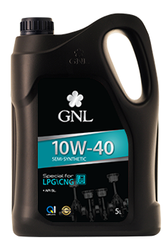 GNL Semi-Synthetic 10W-40 LPG/CNG