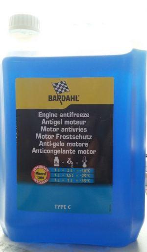 Bardahl Antifreeze type C Концентрат