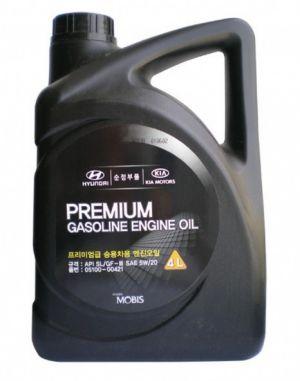 Hyundai/Kia Premium Gasoline SAE 5W-20 SL/GF-3