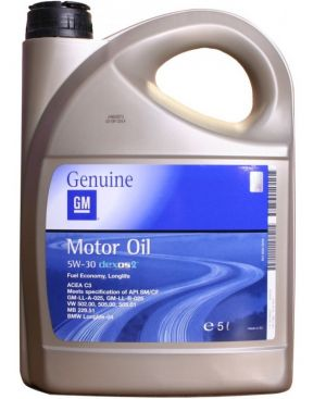 GM Dexos 2 Longlife 5W-30