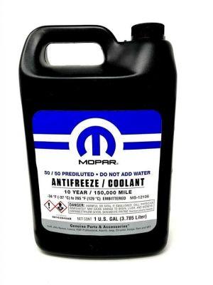 Mopar 50/50 Prediluted Antifreeze/Coolant 10 Year (-37C, фиолетовый)