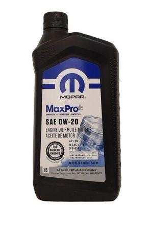 Mopar MaxPro+ 0W-20