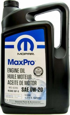 Mopar MaxPro 0W-20