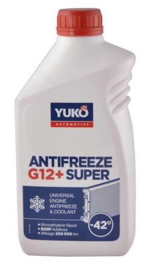 Yuko Antifreeze -40 G12+ Red