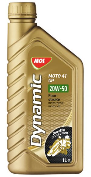 MOL Dynamic Moto 4Т GP 20W-50