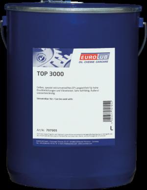 Многоцелевая смазка (кальциевый загуститель) Eurolub Top 3000