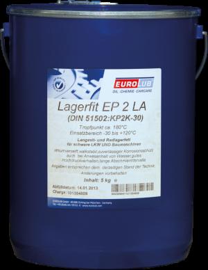 Многоцелевая смазка (литиевый загуститель) Eurolub Lagerfit EP 2 LA