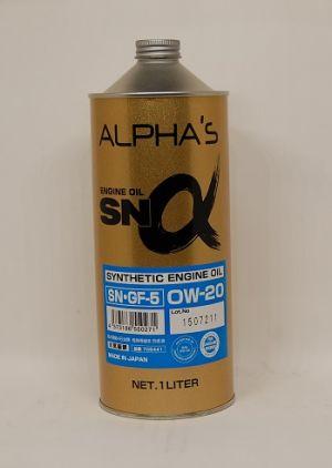 Alpha's SN-α 0W-20