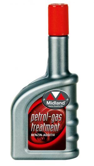 Пpисадка в бензин (Профилактика, октан - корректор) Midland Petrol-Gas Treatment