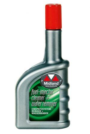 Присадка в топливо ( Очиститель топливной системы, вытеснитель влаги) Midland Fuel Injector Cleaner & Water Remover