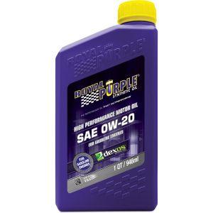 Royal Purple API-LICENSED MOTOR OIL 0W-20